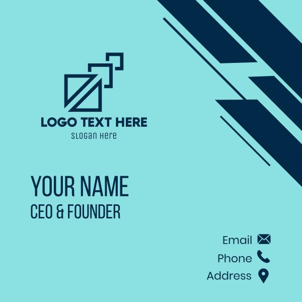 Creative Tech Business Business Card