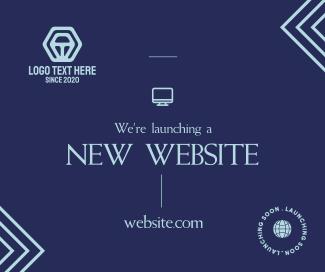 Dainty New Website Facebook post