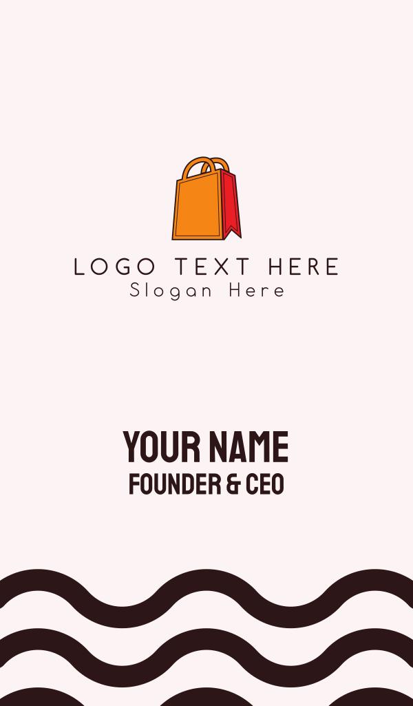 Orange Bag Business Card