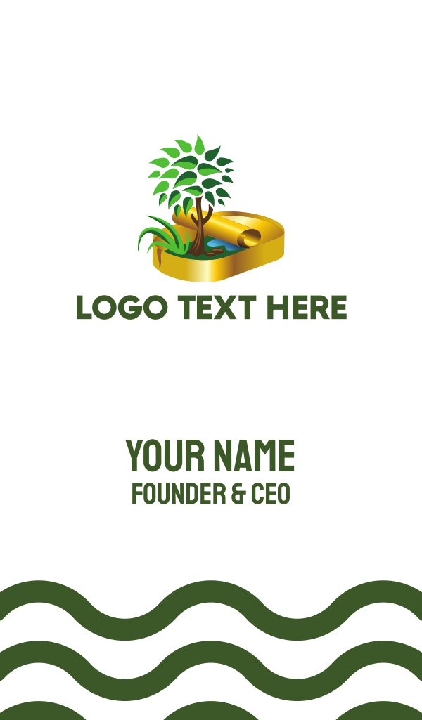 Nature Conservation Business Card