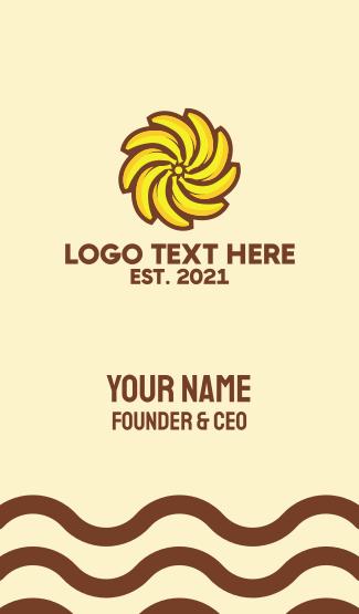 Banana Sun Business Card