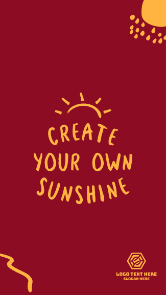 Create Your Own Shine Facebook story