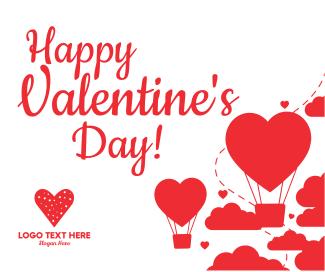 Valentines Heart Facebook post