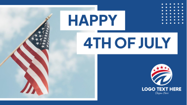 Happy 4th of July Facebook event cover