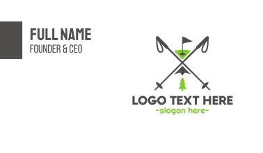 Golf & Ski Business Card