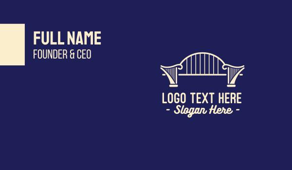 harp - Harp Bridge Business card horizontal design