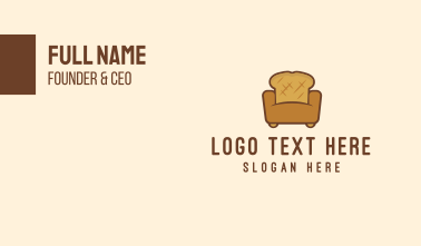 Bread Sofa Business Card