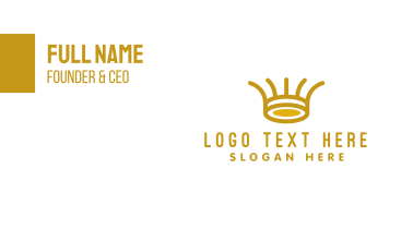 Tribal Crown Business Card