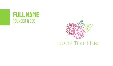 Hydrangea Flower Business Card