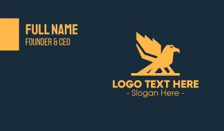 Strong Bird Business Card