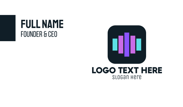 Audio Bars Business Card