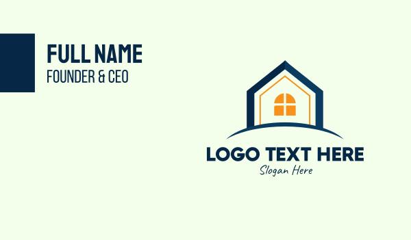 home builder - Real Estate Housing Business card horizontal design