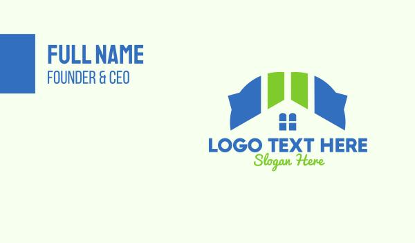 depot - Housing Developer Business card horizontal design