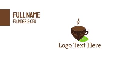 Hazelnut Cup Business Card