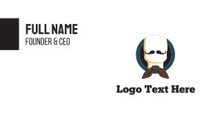 Bow & Moustache Business Card