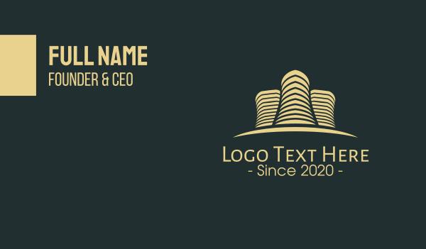 development - Real Estate Development Business card horizontal design