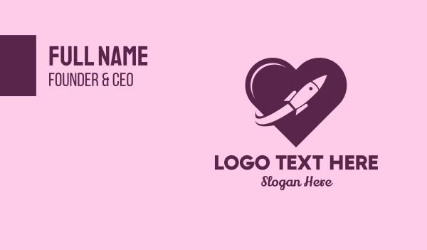 Rocket Love Business Card