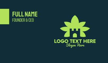 Marijuana Castle Business Card