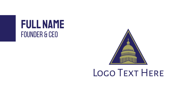 capitol - Texas Capitol  Business card horizontal design