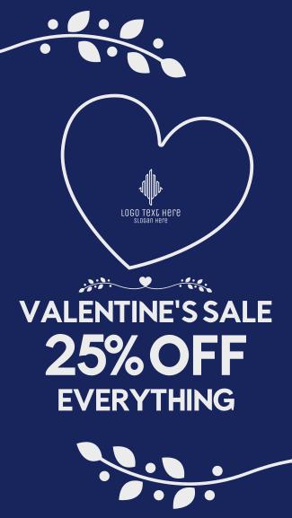 Valentine's Promo Facebook story