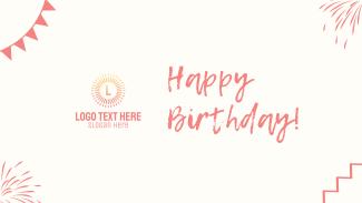 Happy Birthday Facebook event cover