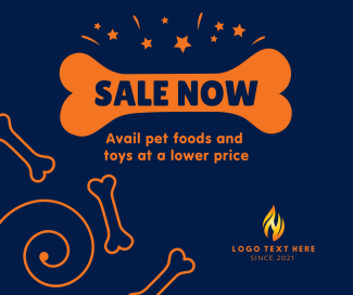 Pet Shop Sale Facebook post