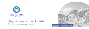 Help Disaster Victims Twitter header (cover)