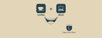 Coffee + Work Facebook cover