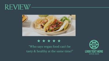 Vegan Food Review Facebook event cover