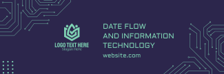 Data Flow and IT Twitter header (cover)
