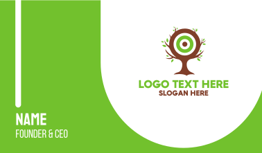 Tree Target Business Card