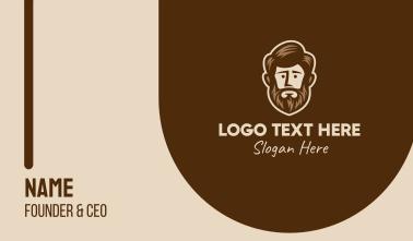 Lush Beard Man  Business Card