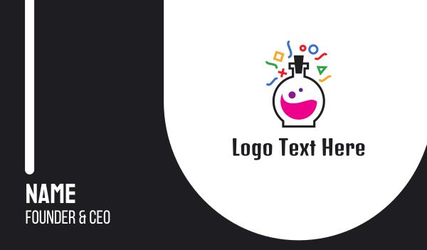 e sports - Test Tube Lab Gaming  Business card horizontal design