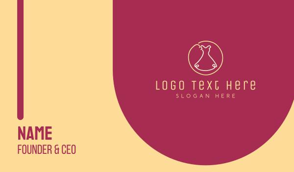 kid apparel - Fashion Dress Business card horizontal design