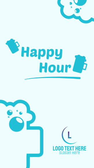 Happy Hour Facebook story