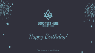 Happy Birthday Message Facebook event cover