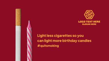 Less Cigarettes Facebook Event Cover