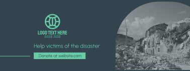 Help Disaster Victims Facebook cover