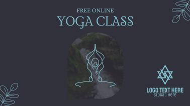 Online Yoga Class Facebook event cover