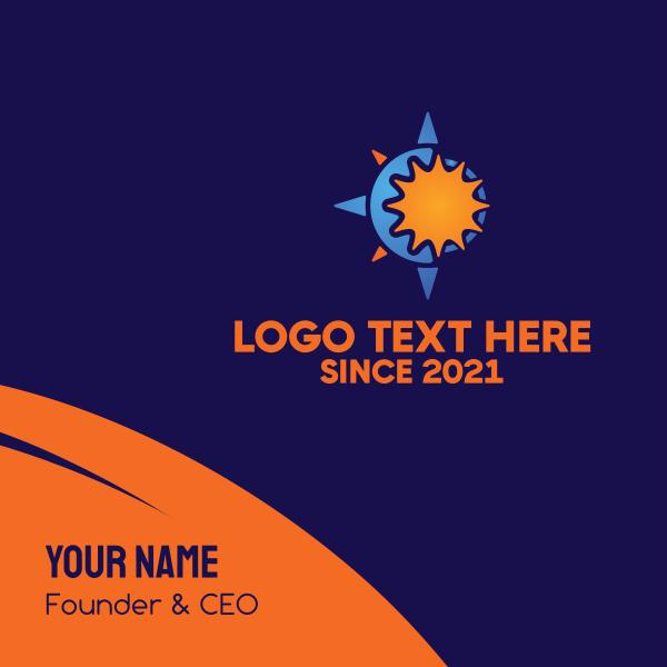 Solar Compass Business Card