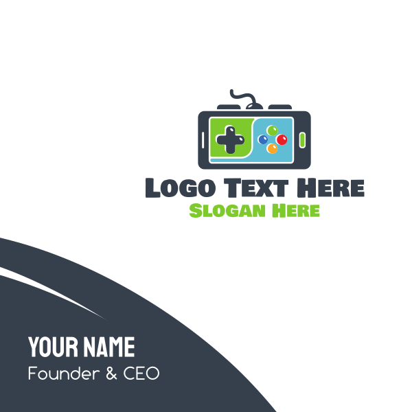 Mobile Gaming Business Card