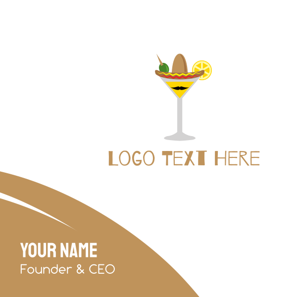 Mexican Cocktail Business Card