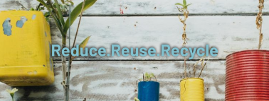 Recycling Plant Facebook cover