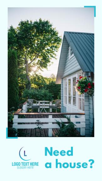 Real Estate Property Facebook story