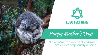 Mother's Day Koala Facebook event cover