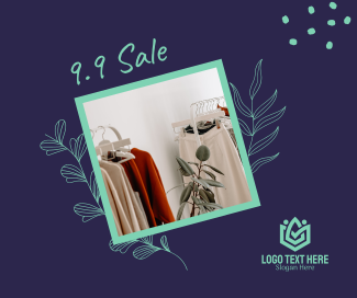 9.9 Women Fashion Sale Facebook post