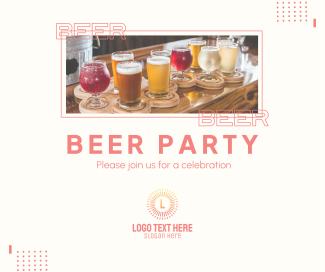 Beer Party Facebook post