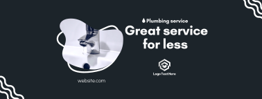 Great Plumbing Service Facebook cover