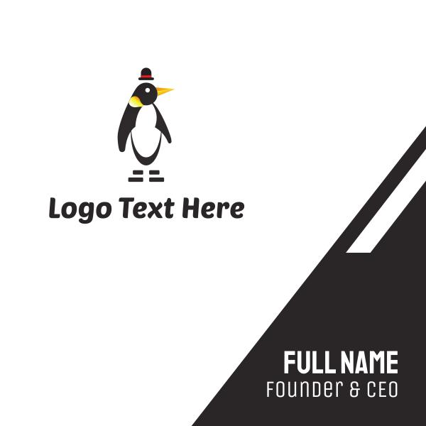 Penguin & Hat Business Card
