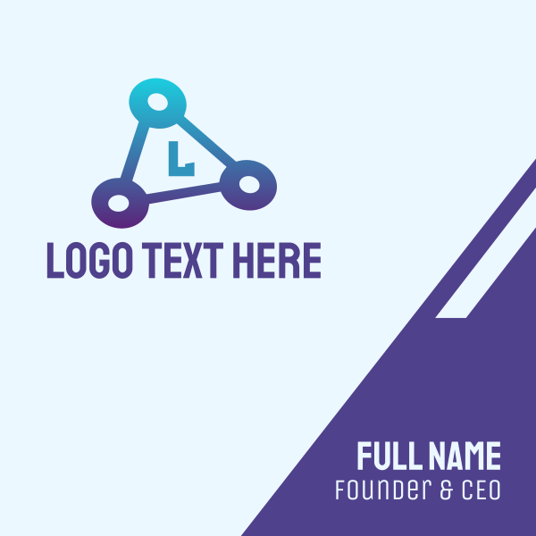 Triangle Tech Business Card